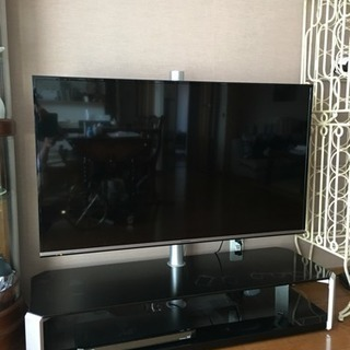 パナソニック製49インチテレビ/テレビ台付き