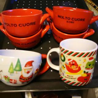 クリスマスのカップ 6点