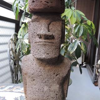 アモイ像(石像)