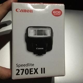 Canon フラッシュ スピードライト 270EX II SP2...
