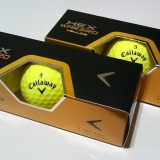 新品 ゴルフボール Callaway 2013 HEX WARB...