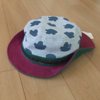 ★新品未使用!オシャレ帽子 52センチ★
