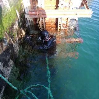 海が仕事のフィールド海洋土木工事、潜水士、一般作業員、見習い募集未...