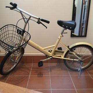 【値下】小径自転車(20インチ変速無)