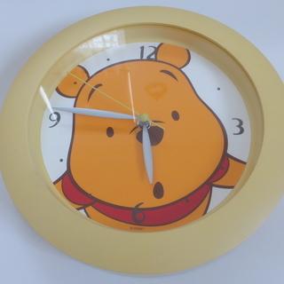 プーさん掛け時計