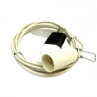 岩塩ランプ専用の電源コード(ACコード) E14専用