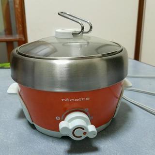 これ一台で、揚げる、やく、蒸す、煮る全ての調理が卓上でできます!