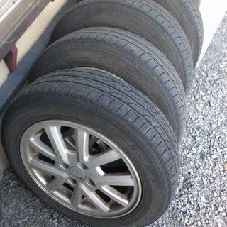 (取引中)タイヤとアルミホイール 175/65R15