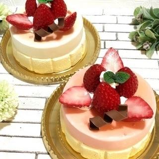 ケーキが小物入れに?!「いちごグラサージュのホールケーキBOX」1...