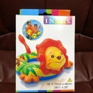 値下げ★2★新品★ライオン浮輪