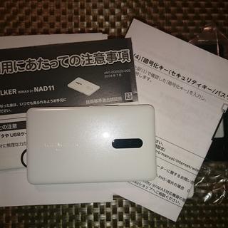 UQ WiMAX 2+ ルーター Wi-Fi WALKER NAD11
