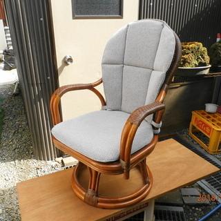 回転式の座椅子【中古品】