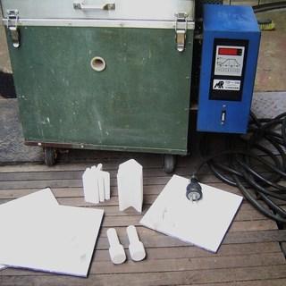 陶芸窯 単相200ボルト全自動マイコン窯 中は美品 引き取り限定