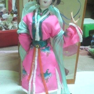 ひなまつりプレゼントに!!中国高級人形~残り1体!!撮影以外、未...