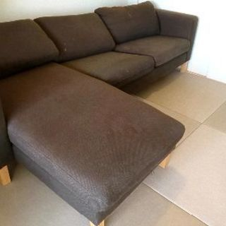 IKEAソファー