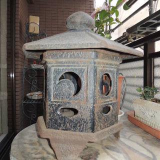 灯籠 (六角型) 鋳物製