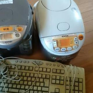 家電(ジャンク)キーボードとマウス