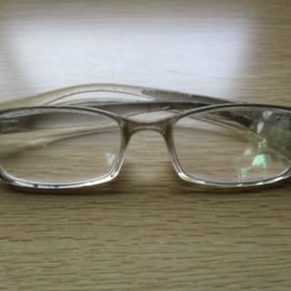 度入りのメガネ 難あり