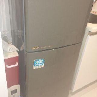 冷蔵庫 SHARP sj13r 125l  電子レンジ koizumi krd-0105の画像