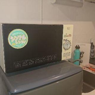 冷蔵庫 SHARP sj13r 125l  電子レンジ koizumi krd-0105 - 新宿区