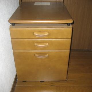 学習机のワゴン - 家具
