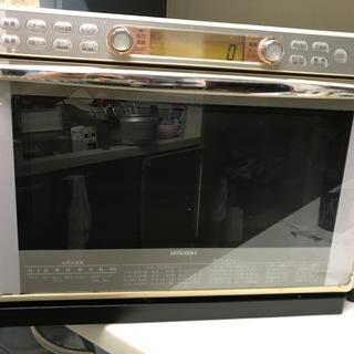 電子レンジ(三菱オーブンレンジ RO-B1C)の画像