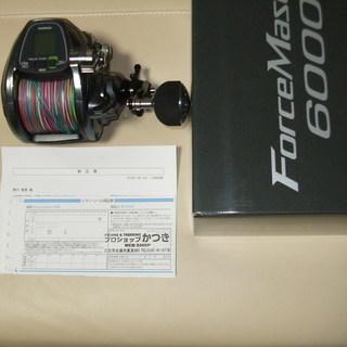 未使用シマノ電動リールフォースマスター6000