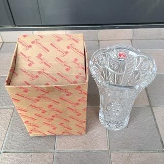 ボヘミア フラワーベース クリスタル ガラス ボヘミアングラス2...