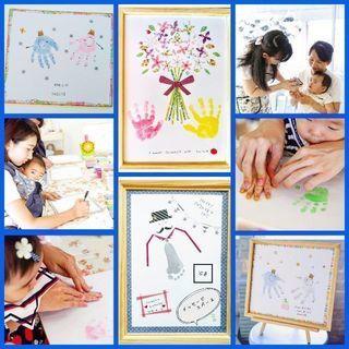 【京都】ママありがとうフェスタで『手形アート』