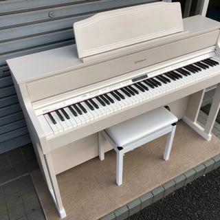 ♫ 中古電子ピアノ ローランド HP-605GP MW 2017年製 ♫