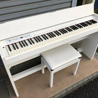 ♫ 中古電子ピアノ ローランド F-120 WH 2012年製 ♫
