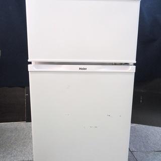 ハイアール 2ドア冷蔵庫▼JR-N91J▼91L▼14年製▼湯河...