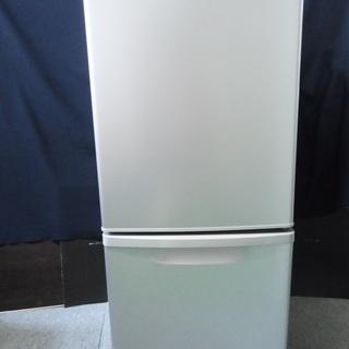 パナソニック 2ドア冷蔵庫▼NR-B148W▼138L▼16年製...