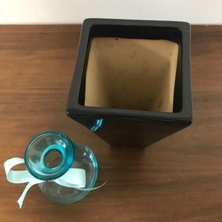 陶器鉢 花瓶 セット