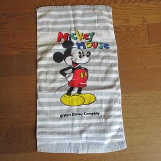 ミッキーマウス タオル
