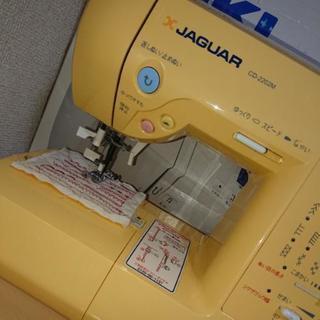 ジャガー JAGUAR CD-2202M/W ミシン イエロー 完売品
