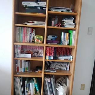 本棚 収納棚 (本棚の中身は含まれません)