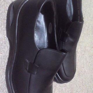24.5稀少サイズ 未使用の革靴!!安さで就職活動応援!!