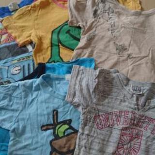 「夏物を買う前に!!」男の子夏用100Tシャツ&ランニング(セッ...