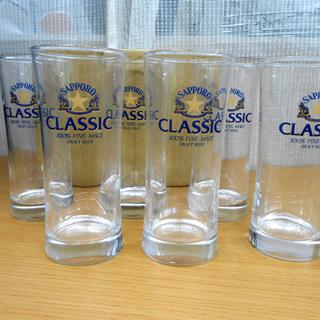新品 サッポロ クラシック グラス 6個セット ビアグラス コッ...