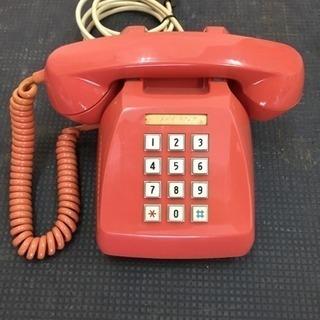 昭和レトロ‼️ プッシュ式電話機💫600-P