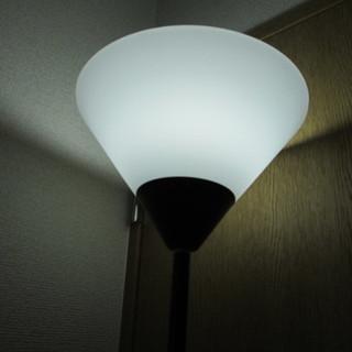 間接照明◆高さが選べる ブラックアッパーライト◆フロアランプ/インテリア