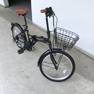 折り畳み自転車 かなり美品