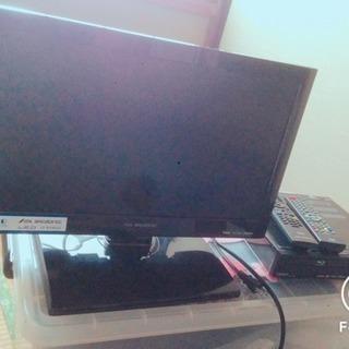 小型テレビ DVDデッキ
