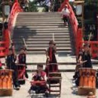 住吉大社 住吉祭で、和太鼓を打ちながら祭りに参加しませんか