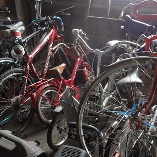 不要になった、自転車、バイク、回収します。