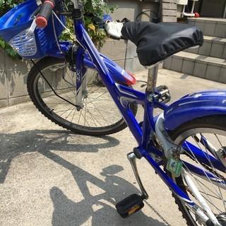 【ジャンク】子供用自転車 ヘルメット付き
