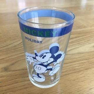 【新品未使用】ディズニー・ミッキーグラス(ガラス製・コップ)