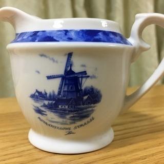 【新品未使用】ミルクピッチャー(陶器・ミルク入れ)