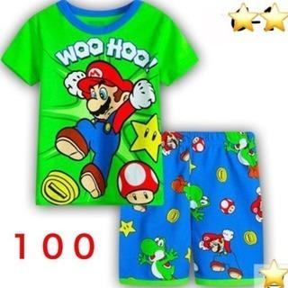 マリオ パジャマ セットアップ100